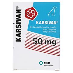 KARSIVAN 50 mg für Hunde 60 Stück - Vorderseite