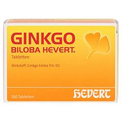 GINKGO BILOBA HEVERT Tabletten 100 Stück N1 - Vorderseite