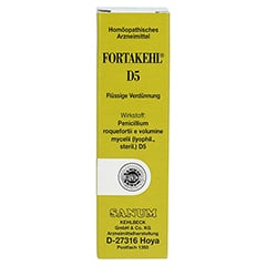FORTAKEHL D 5 Tropfen 10 Milliliter N1 - Vorderseite