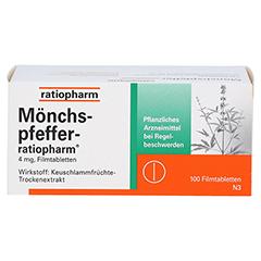 MÖNCHSPFEFFER-ratiopharm 4mg 100 Stück N3 - Vorderseite