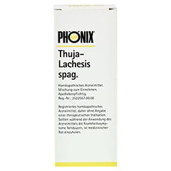 PHÖNIX THUJA lachesis spag.Tropfen 100 Milliliter N2 - Vorderseite