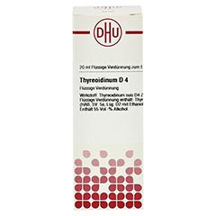 THYREOIDINUM D 4 Dilution 20 Milliliter N1 - Vorderseite