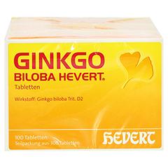 GINKGO BILOBA HEVERT Tabletten 300 Stück N3 - Vorderseite
