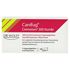 Canifug-Cremolum 200 (3+20g) 1 Packung N2 - Vorderseite