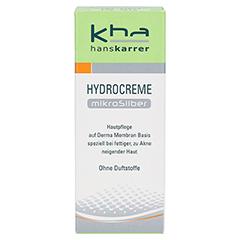 HANS KARRER Hydrocreme MikroSilber 30 Milliliter - Vorderseite