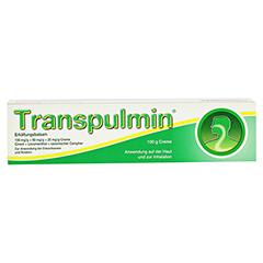 Transpulmin Erkältungsbalsam 100 Gramm - Vorderseite