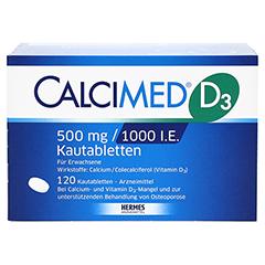 Calcimed D3 500mg/1000 I.E. 120 Stück N3 - Vorderseite