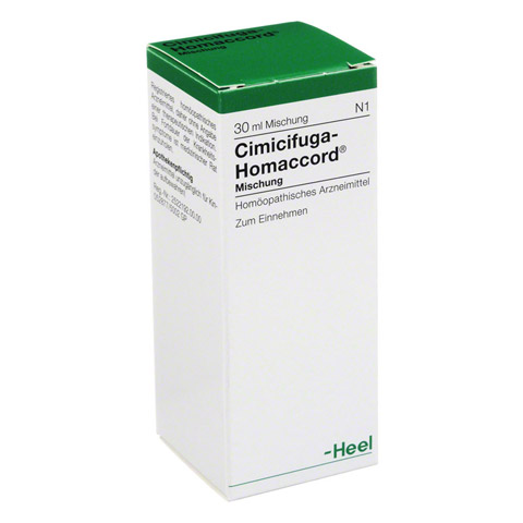 CIMICIFUGA HOMACCORD Tropfen 30 Milliliter N1