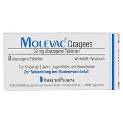 MOLEVAC Dragees 8 Stück N2 - Vorderseite
