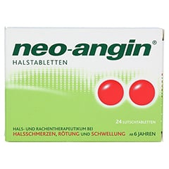 Neo-Angin Halstabletten 24 Stück N1 - Vorderseite