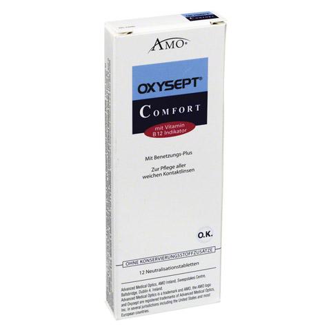 OXYSEPT Comfort Vit.B 12 Tabletten 12 Stück