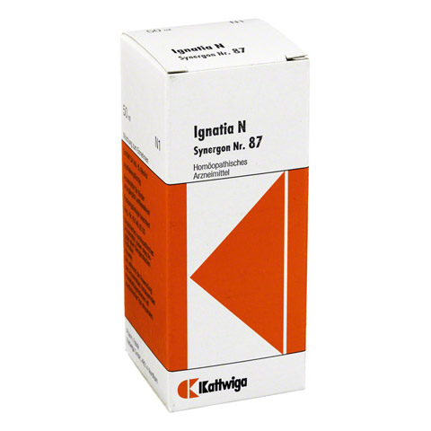 SYNERGON KOMPLEX 87 Ignatia N Tropfen 50 Milliliter N1