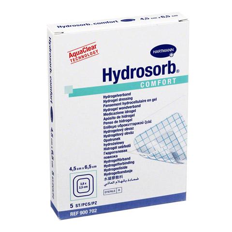 HYDROSORB comfort Wundverband 4,5x6,5 cm 5 Stück