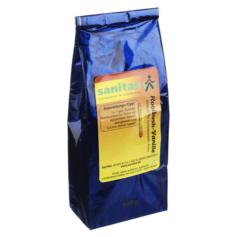 ROOIBUSH Tee Vanille 100 Gramm