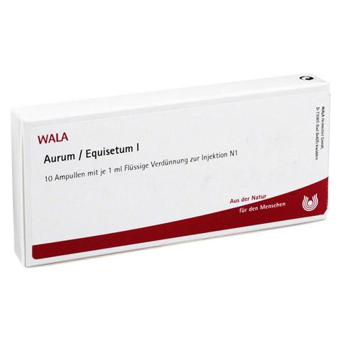 AURUM/EQUISETUM I Ampullen 10x1 Milliliter N1