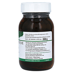 CHLORELLA MIKROALGEN 400 mg Sanatur Tabletten 500 Stück - Linke Seite