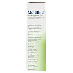Multilind Heilsalbe mit Nystatin 100 Gramm N3 - Linke Seite