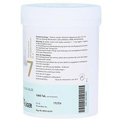 BIOCHEMIE Pflüger 7 Magnesium phosph.D 6 Tabletten 1000 Stück - Linke Seite