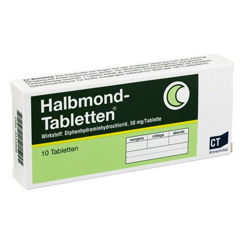 Halbmond-Tabletten 50mg 10 Stück N1