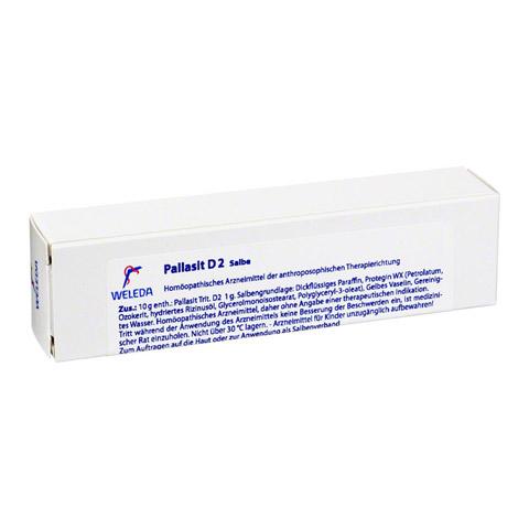 PALLASIT D 2 Salbe 25 Gramm N1