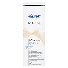 LA MER MED Redness Reduction Creme ohne Parfüm 30 Milliliter - Vorderseite