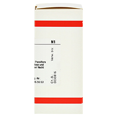 PASSIFLORA INCARNATA D 3 Tabletten 80 Stück N1 - Rechte Seite