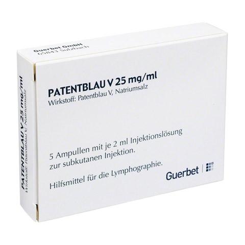 PATENTBLAU V Injektionslösung 5x2 Milliliter