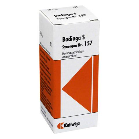 SYNERGON KOMPLEX 157 Badiaga S Tropfen 20 Milliliter