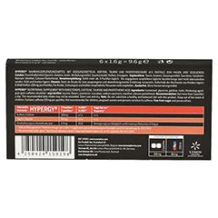 HYPERGY enerjetix tutti frutti Pastillen 6x1.6 Gramm - Rückseite