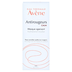AVENE Antirougeurs Calm beruhigende Maske 50 Milliliter - Rückseite