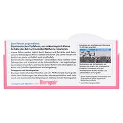 Biorepair Zahncreme mild 75 Milliliter - Rückseite