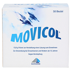 MOVICOL 50 Stück - Rückseite