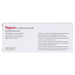 Vagisan Feuchtcreme Kombi 1 Packung - Rückseite