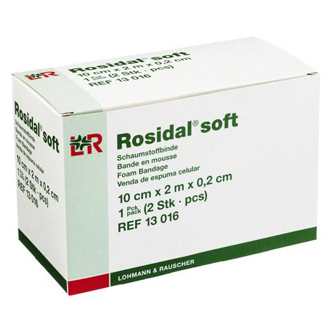 ROSIDAL Soft Binde 10x0,2 cmx2 m 2 Stück