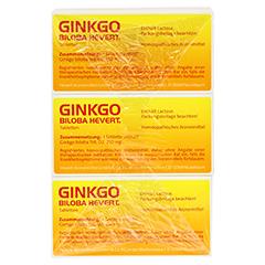 GINKGO BILOBA HEVERT Tabletten 300 Stück N3 - Oberseite