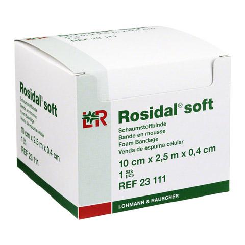 ROSIDAL Soft Binde 10x0,4 cmx2,5 m 1 Stück