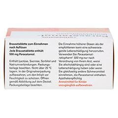 Paracetamol-ratiopharm 500mg 20 Stück N2 - Oberseite