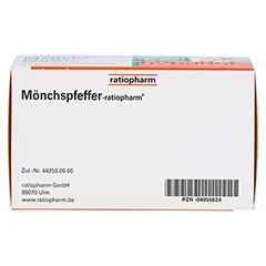 MÖNCHSPFEFFER-ratiopharm 4mg 100 Stück N3 - Unterseite