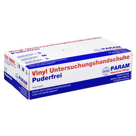 HANDSCHUHE Einmal Vinyl puderfrei S 100 Stück