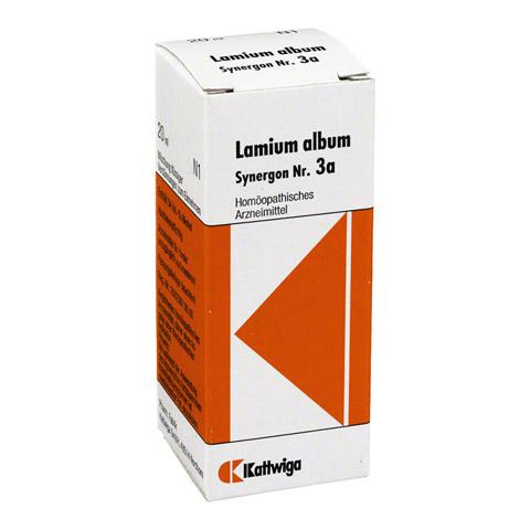 SYNERGON KOMPLEX 3a Lamium album Tropfen 20 Milliliter