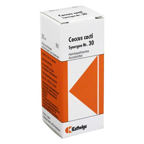 SYNERGON KOMPLEX 30 Coccus cacti Tropfen 20 Milliliter