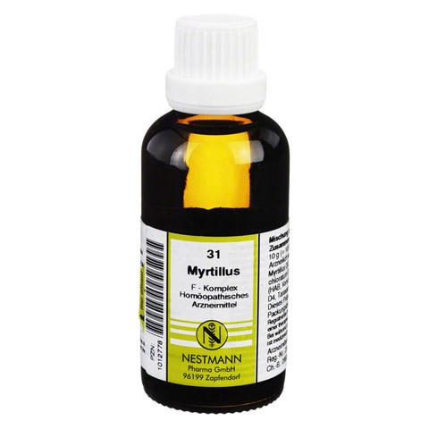 MYRTILLUS F Komplex 31 Dilution 50 Milliliter