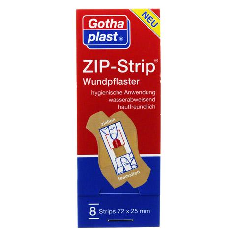 ZIP-STRIP wasserabweisend 25x72 mm 8 Stück