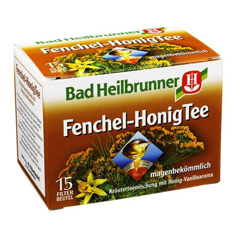 BAD HEILBRUNNER Tee Fenchel Honig Filterbeutel 15 Stück
