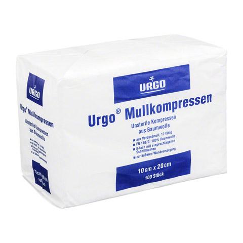 URGO MULLKOMPRESSEN 10x20 cm unsteril 8fach 100 Stück