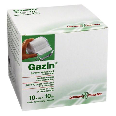 GAZIN Verbandmull 10 cmx10 m 8fach 1 Stück