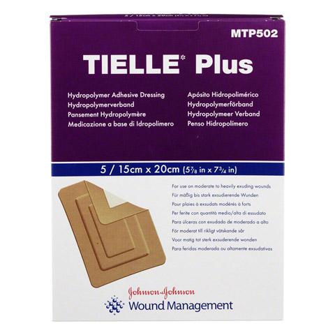 TIELLE Plus Hydropolymer-Verband 15x20 cm steril 5 Stück
