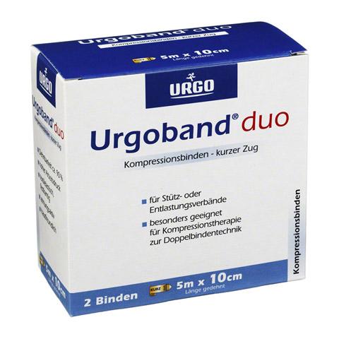 URGOBAND Duo Kurzzugbinde 10 cmx5 m 2 Stück