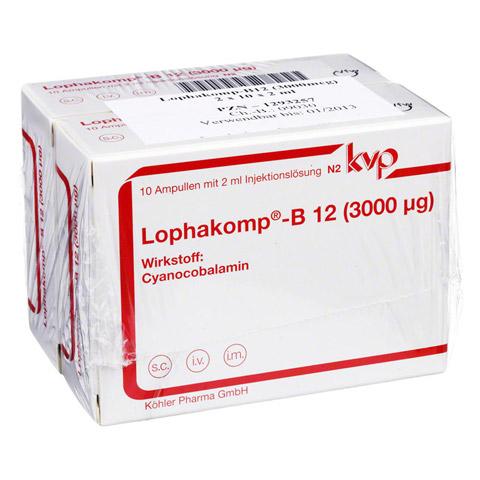 Lophakomp B12 3.000 µg Injektionslösung 20x2 Milliliter N3