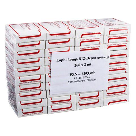 LOPHAKOMP B 12 Depot 1000 µg Injektionslösung 200x2 Milliliter